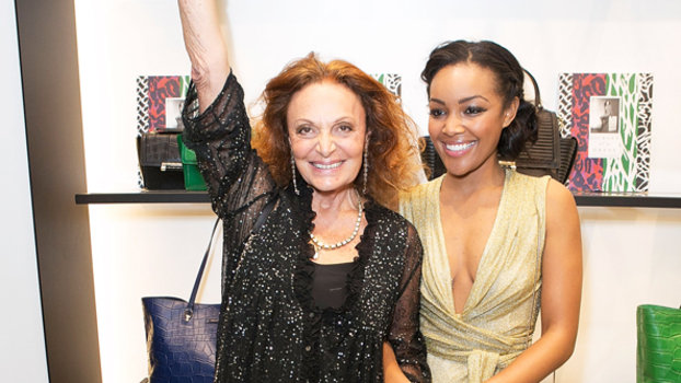 House of DVF 2014 winner Brittany (My fave!) with Diane