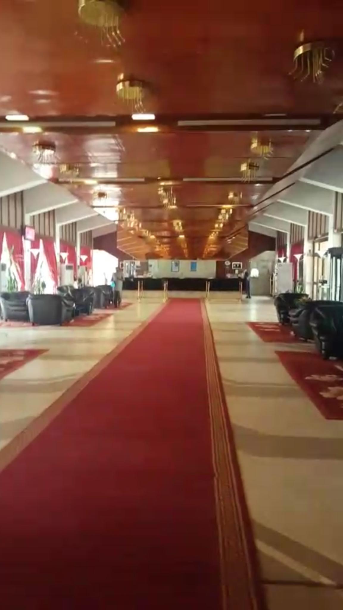 Reception area of The Hotel Gaweye